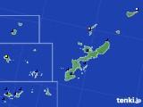2021年02月10日の沖縄県のアメダス(日照時間)