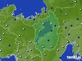 2021年02月11日の滋賀県のアメダス(風向・風速)