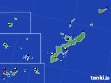 2021年02月13日の沖縄県のアメダス(日照時間)