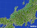 アメダス実況(気温)(2021年02月13日)