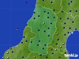 2021年02月20日の山形県のアメダス(日照時間)