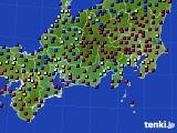 東海地方のアメダス実況(日照時間)(2021年02月23日)
