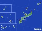 2021年02月23日の沖縄県のアメダス(日照時間)