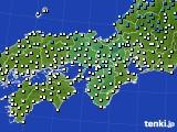 アメダス実況(気温)(2021年02月23日)