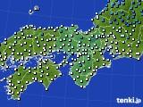 2021年02月24日の近畿地方のアメダス(気温)