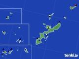 2021年02月25日の沖縄県のアメダス(日照時間)
