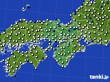 2021年02月26日の近畿地方のアメダス(風向・風速)