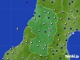 2021年02月26日の山形県のアメダス(風向・風速)
