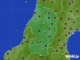 2021年02月27日の山形県のアメダス(日照時間)