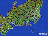 関東・甲信地方のアメダス実況(日照時間)(2021年03月01日)