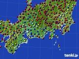 東海地方のアメダス実況(日照時間)(2021年03月01日)