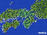 2021年03月02日の近畿地方のアメダス(日照時間)