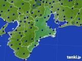 三重県のアメダス実況(日照時間)(2021年03月02日)