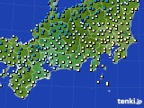 東海地方のアメダス実況(気温)(2021年03月02日)