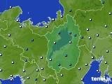 滋賀県のアメダス実況(気温)(2021年03月02日)