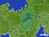 2021年03月02日の滋賀県のアメダス(風向・風速)
