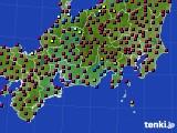 東海地方のアメダス実況(日照時間)(2021年03月03日)
