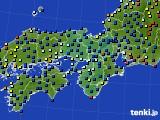 2021年03月04日の近畿地方のアメダス(日照時間)