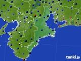 三重県のアメダス実況(日照時間)(2021年03月04日)