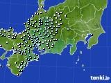 東海地方のアメダス実況(降水量)(2021年03月05日)