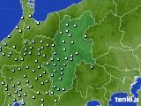 長野県のアメダス実況(降水量)(2021年03月05日)