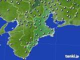 三重県のアメダス実況(降水量)(2021年03月05日)