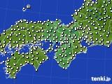 2021年03月05日の近畿地方のアメダス(気温)