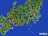 関東・甲信地方のアメダス実況(日照時間)(2021年03月06日)