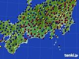 東海地方のアメダス実況(日照時間)(2021年03月06日)