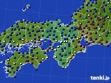 2021年03月06日の近畿地方のアメダス(日照時間)