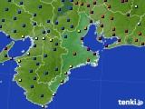 三重県のアメダス実況(日照時間)(2021年03月06日)
