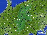 長野県のアメダス実況(風向・風速)(2021年03月06日)