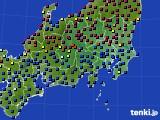 2021年03月07日の関東・甲信地方のアメダス(日照時間)