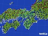 2021年03月07日の近畿地方のアメダス(日照時間)