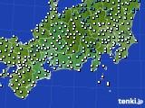 東海地方のアメダス実況(気温)(2021年03月07日)