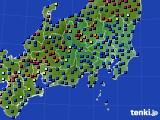 2021年03月08日の関東・甲信地方のアメダス(日照時間)