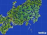 2021年03月13日の関東・甲信地方のアメダス(日照時間)
