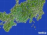 東海地方のアメダス実況(気温)(2021年03月13日)