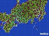 東海地方のアメダス実況(日照時間)(2021年03月15日)