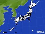 2021年03月16日のアメダス(風向・風速)