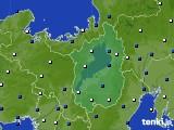 2021年03月17日の滋賀県のアメダス(風向・風速)