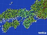 2021年03月20日の近畿地方のアメダス(日照時間)