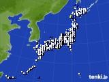 2021年03月23日のアメダス(風向・風速)