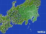 2021年03月28日の関東・甲信地方のアメダス(降水量)