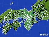 2021年03月28日の近畿地方のアメダス(降水量)