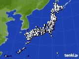 2021年03月28日のアメダス(風向・風速)