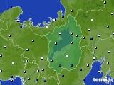 2021年03月29日の滋賀県のアメダス(風向・風速)