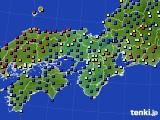 2021年03月30日の近畿地方のアメダス(日照時間)