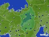 2021年04月02日の滋賀県のアメダス(風向・風速)