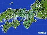 2021年04月04日の近畿地方のアメダス(降水量)
